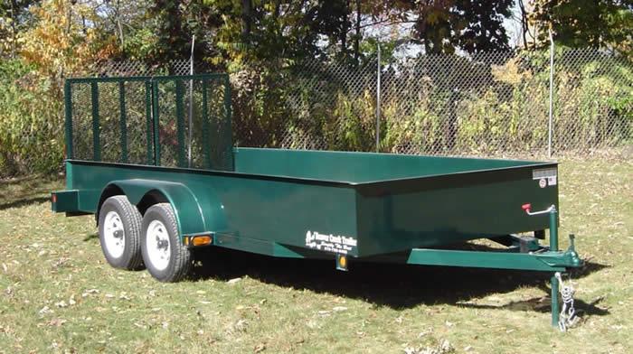 Lawn maintenance trailer for Garden maintenance trailer